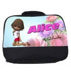 Cool Girl Personalised Lunch Bag