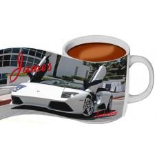 Personalised Lamborghini Mug