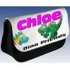 Personalised Cheeky Dinosaur Pencil Case / Handheld Games Console Case