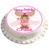 Personalised Molly Moose Cute Cake Toppers (1)