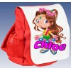 Kids Personalised  Ruck Sack School Bag (Available in Red / Blue)