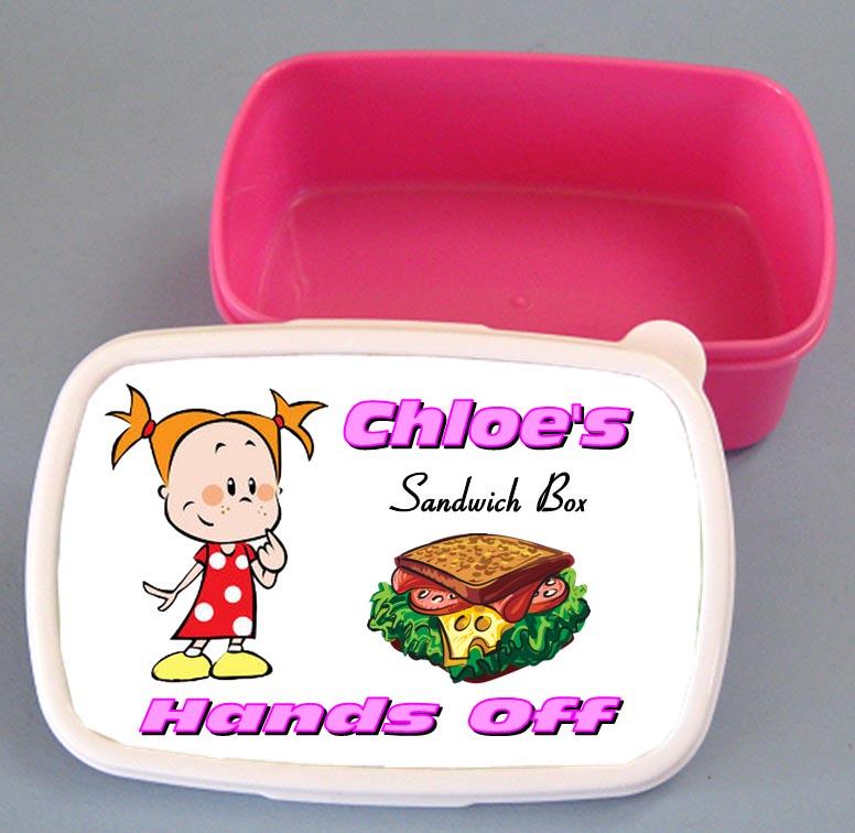Personalised Sandwich Box