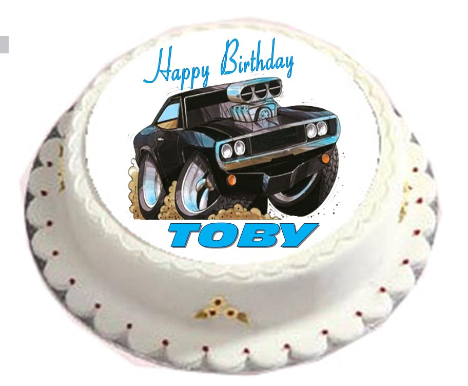 Fast And Furious Cake Toppers